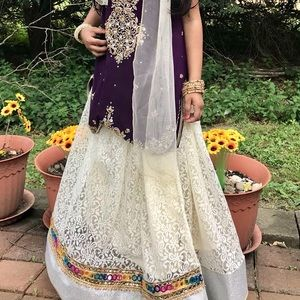 Other - Beautiful Bollywood 3 Piece outfit size age 6